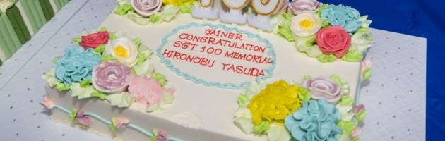 SUPER GT 参戦 100戦目のメモリアルレースで優勝!